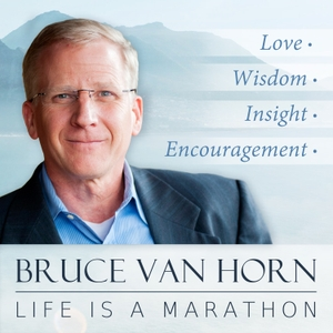 Life Is A Marathon by Bruce Van Horn