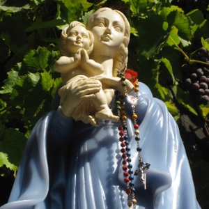 Praying the Rosary by Totus2us