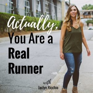 Actually, You Are a Real Runner by Jaclyn Ricchio Stover: Imperfect Eating Coach