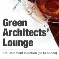 GreenBuildingAdvisor.com's Green Architects' Lounge by Chris Briley and Phil Kaplan