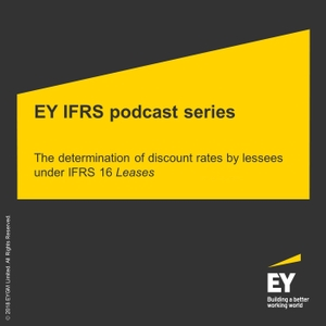 EY IFRS podcast series by EY