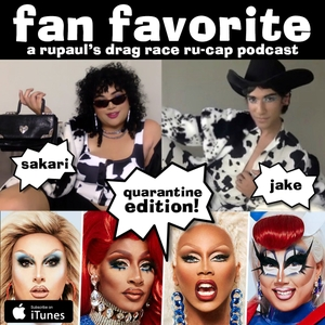 Fan Favorite: A Pop Culture Podcast with Sakari & Jake by Jake Thompson & Sakari Singh