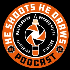 He Shoots, He Draws Podcast by Glyn Dewis and Dave Clayton