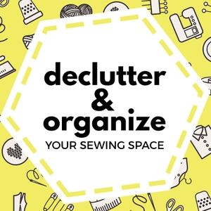 Declutter and Organize Your Sewing Space by Declutter and Organize Your Sewing Space