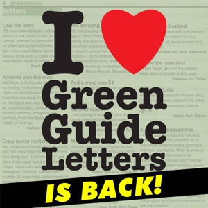 I Love Green Guide Letters with Steele Saunders by Steele Saunders