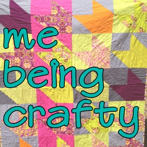 Me Being Crafty with Tsoniki Crazy Bull by Tsoniki Crazy Bull interviews Anne Sullivan, Heather Mann, Rachael Gander, Sandi Sawa Hazlewood, Christa Watson, as well as other quilters, sewists, fabric designers, artists, clothing designers, musicians, and more twice a week.