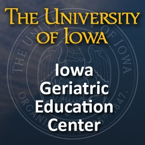 Iowa Geriatric Education Center GeriaCast by University of Iowa Healthcare