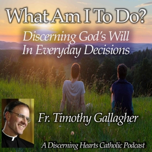 """""""What am I to do?"""" - Discerning the Will of God in Everyday Decisions with Fr. Timothy Gallagher - Discerning Hearts Catholic by Fr. Timothy Gallagher / Kris McGregor"""