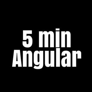 Пятиминутка Angular by Алексей Охрименко