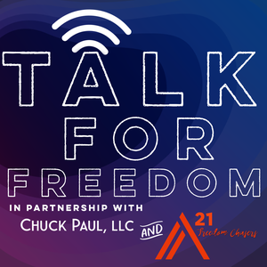Talk For Freedom by Chuck Paul LLC and A21 Freedom Chasers