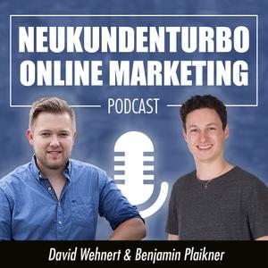 Neukundenturbo Online Marketing Podcast by Inspiriert durch Online Marketing Größen wie Russel Brunson, Raoul Plickat, Kris Stelljes & Experten wie Dirk Kreuter, Calvin Hollywood, Christian Bischoff uvm.