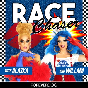 Race Chaser with Alaska & Willam by Forever Dog