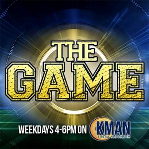The Game on 1350 KMAN by John Kurtz Mason Voth and Mitch Fortner