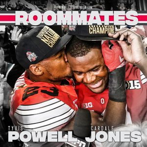 Roommates with Cardale Jones and Tyvis Powell by Lettermen Row