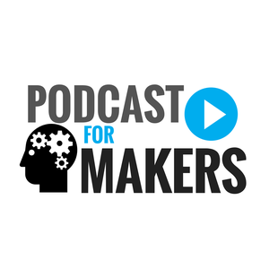 The Podcast For Makers (MakerCast) by Passionate people in the fields of manufacturing, CNC machining, welding, fabricating, 3D printing, education with STEM curriculum, robotics, and woodworking, to name a few.