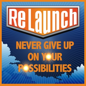 """ReLaunch -  NEVER GIVE UP on Your Possibilities by Joel Boggess (Life Coach and #1 Bestselling Author of """"Finding Your Voice"""")"""