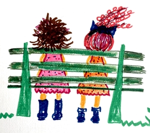 2 Girls on a Bench the Podcast by Tricia Marsac & Siana Gildard