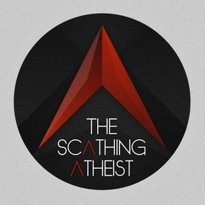 The Scathing Atheist by Puzzle in a Thunderstorm, LLC
