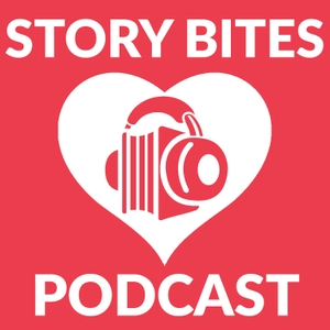 The Story Bites Podcast by Tanya Eby and Sarina Bowen, writing, publishing and narrating fiction