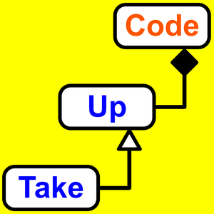 Take Up Code by Take Up Code: build your own computer games, apps, and robotics with podcasts and live classes