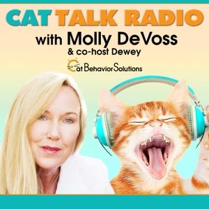 Cat Talk Radio by Molly DeVoss and Dewey Vaughn