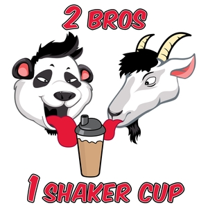 2 Bros 1 Shaker Cup by Andy Huang