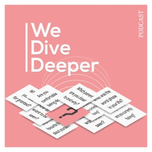 We Dive Deeper by Kate McGill