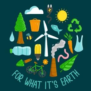 For What It's Earth by Emma Brisdion & Lloyd Hopkins