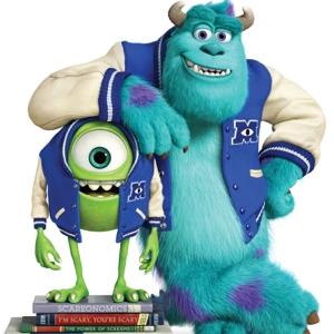 DIE MONSTER UNI by Disney/Pixar