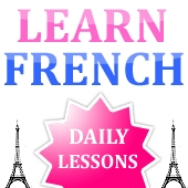 Learn French with daily lessons by FrenchVoila