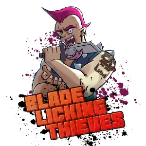 Blade Licking Thieves by Grant, TheHeat, and Zen