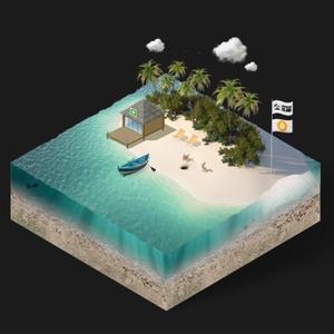Contrarian Island by Contrarian Island - Bitcoin - Cannabis