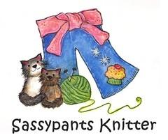 Sassypantsknitter by sillyfru