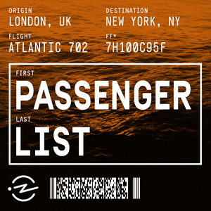 Passenger List by Passenger List and Radiotopia