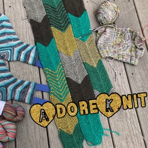 AdoreKnit Podcast by Steph & Steve