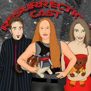 The Resurrection Cast  a Battlestar Galactica Intro Podcast by Courtney, Pete, Melanie