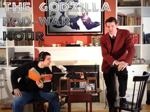 The Godzilla Pod-War Hour by Mike Kelly & Nate Baer