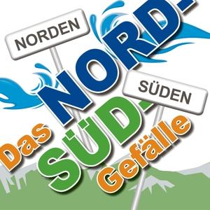 Das Nord-Süd-Gefälle by Dotti & Jörn