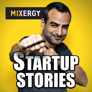 Mixergy - Startup Stories with 1000+ entrepreneurs and businesses by By Andrew Warner, a fan of This American Life, Serial, Tim Ferriss, Dave Ramsey, Richard Branson, Y Combinator, Elon Musk & you