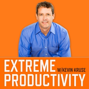 Extreme Productivity with Kevin Kruse by Kevin Kruse shares time management tips and productivity advice to help you get things done, increase your effectiveness and efficiency and manage stress better.