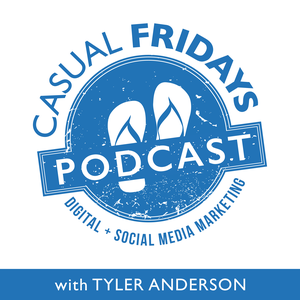 Casual Fridays Podcast by Tyler Anderson interviews Michael Stelzner, Mari Smith, Jay Baer, Chris Brogan and other social media marketing professionals.