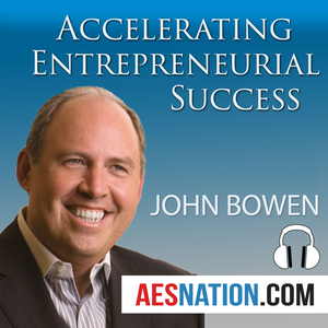 Accelerating Entrepreneurial Success (Audio) with John Bowen by John Bowen provides entrepreneurs a road map for growing their businesses and building a higher quality of life through life-changing interviews with Dan Sullivan, Peter Diamandis, Joe Polish, Bo Eason, Ned Hallowell, John Janstch and Jeff Walker.