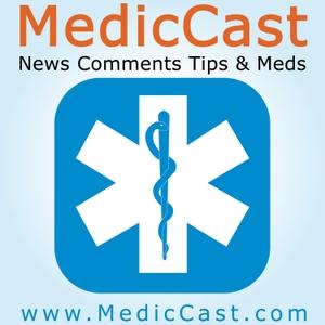 MedicCast Audio Podcast for EMT Paramedics and EMS Students by Jamie Davis, the Podmedic, RN, NREMTP, BA, AAS