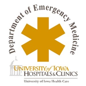 The University of Iowa Department of Emergency Medicine by Hans R. House, MD