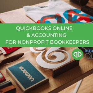 QuickBooks Online and Accounting For Non-profit Bookkeepers by Desarie Anderson