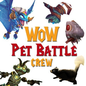 WoW Pet Battle Crew by Josh Augustine